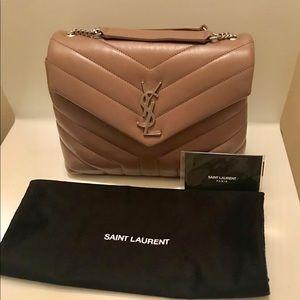 Saint Laurent Small Loulou Bag in Y Matelasse